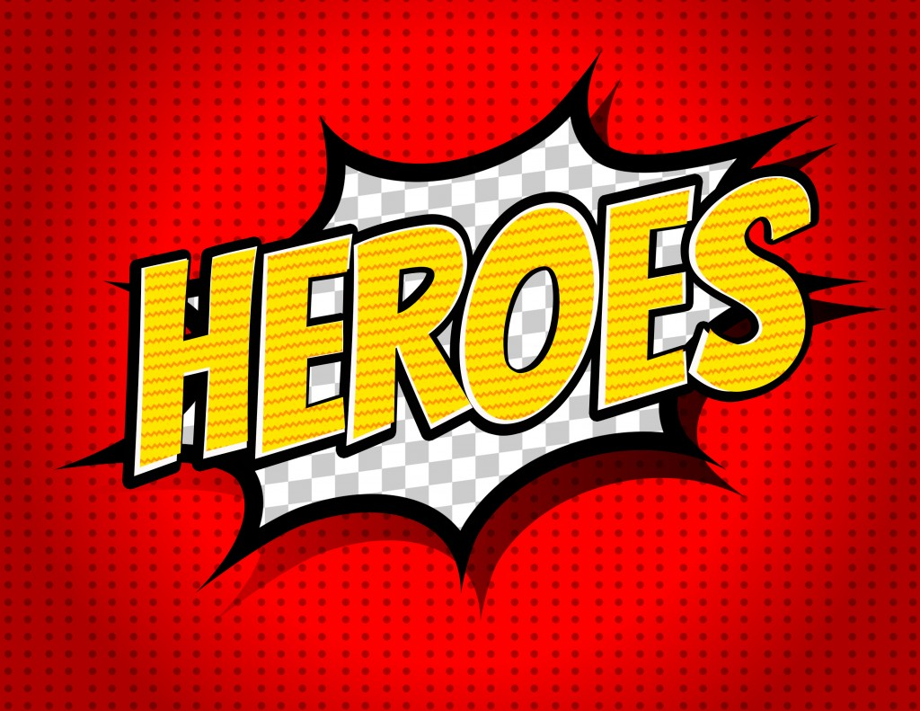 Heroes Sermon Series Artwork